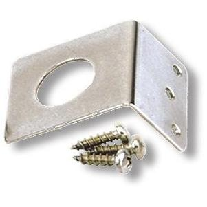 LBT3800: Stainless Steel L Bracket for Trunk Groove, 3/4 Hole