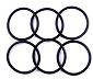 MORNG: Package of 6 O-rings for NMO mount