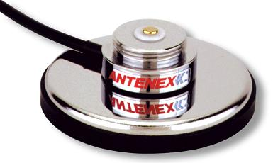 G8XN: Antenex/Laird Technologies 3/4 Style Magnetic Mount Base (No Rubber Boot) with 12 RG-8X Cable, N/Male Crimp (Loose)