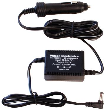 859913 - DC/DC 6V Power Supply for Wilson Cellular Mobile Wireless Smart Technology Amplifiers