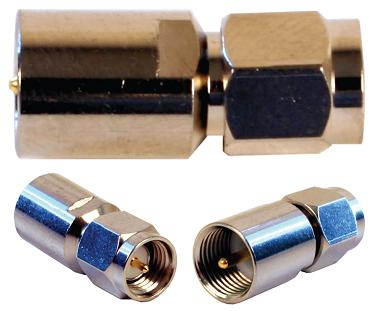 971119 - FME/Male to SMA/Male Adapter. Adapts Wilson Cellular antenna or inline amplifier to most Cellsocket for Motorola phones.