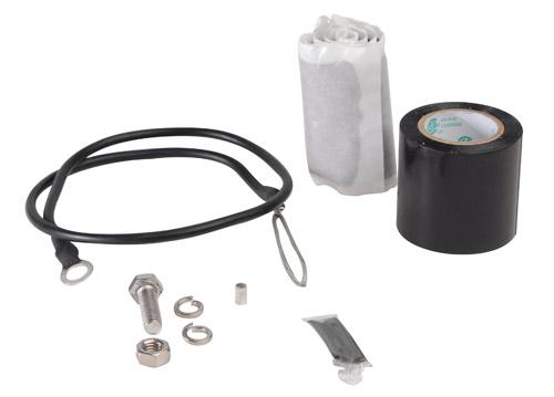 Cable Grounding Kit : Gk sunv andrew universal grounding kit for in